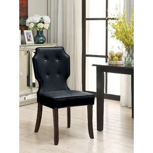 Blumefield Upholstered Dining Chair (Set of 2) Rosdorf Park