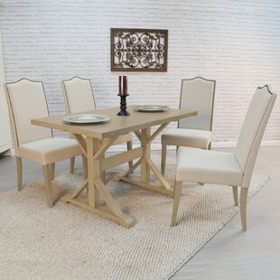Pendergrass 5 Piece Dining Set One Allium Way