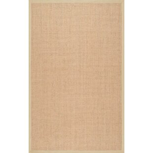 Alhambra Contemporary Sand Area Rug by Highland Dunes