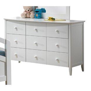 Scheffel 9 Drawer Dresser by Harriet Bee