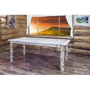 Tustin 4 Post Extendable Solid Wood Dining Table