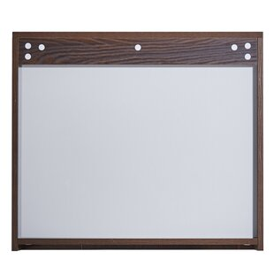 In 35 Series 23.6 x 25.6 Surface Mount Framed Medicine Cabinet with 3 Shelves by InFurniture