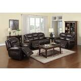 Rhoades 3 Piece Reclining Living Room Set by Red Barrel Studio