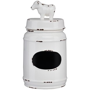 Farm Ceramic Cow Kitchen Canister