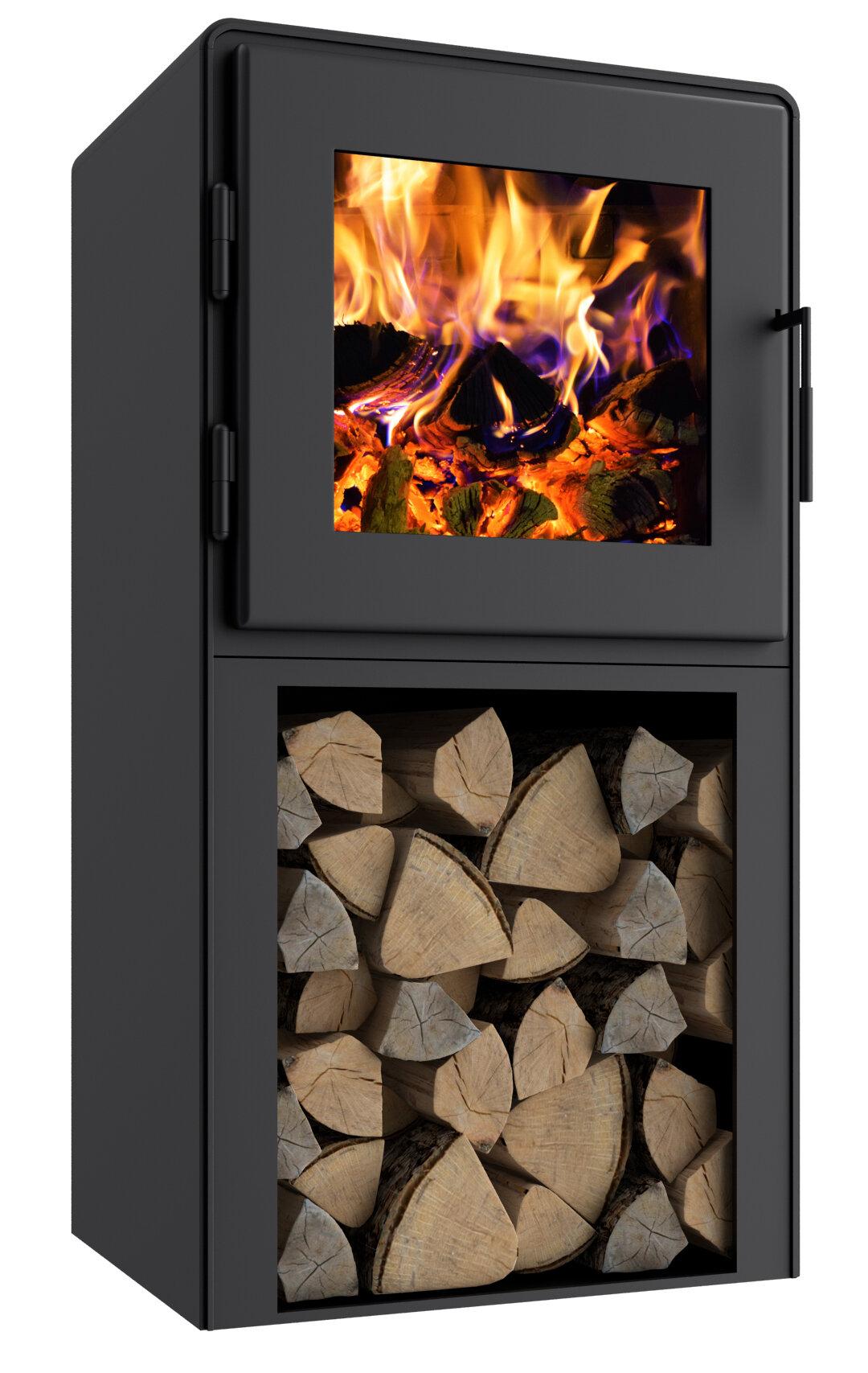 Mf Fire Nova 1500 Sq Ft Direct Vent Freestanding Wood Stove Wayfair