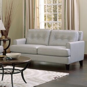 Barbara Leather Loveseat by Palliser Furniture