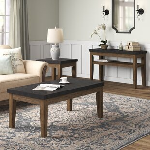 Dejardins 3 Piece Coffee Table Set