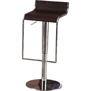 Lalani Adjustable Height Swivel Bar Stool by Orren Ellis