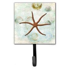Starfish Leash Holder and Wall Hook by Caroline's Treasures