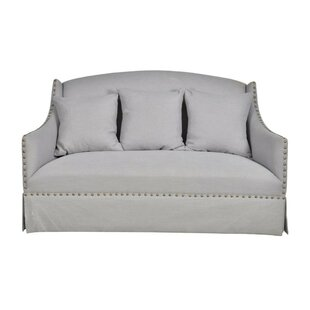 Tristan Contemporary Settee by One Allium Way