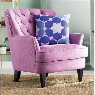 Impressive Accent Chair Purple Set