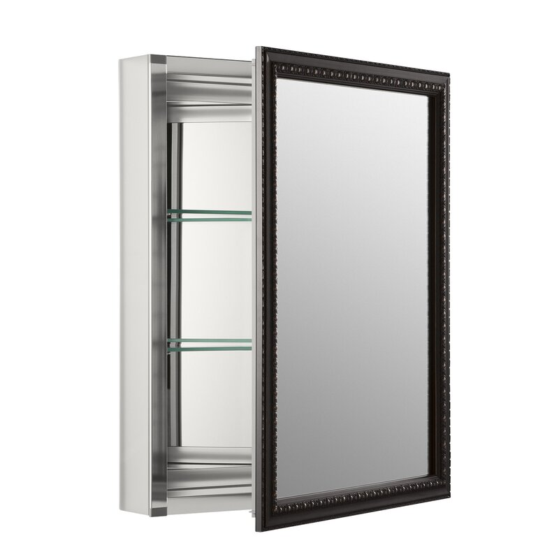 20  x 26  Wall Mount Mirrored Medicine Cabinet with Mirrored Door  sc 1 st  Wayfair : mirror medicine cabinet - Cheerinfomania.Com