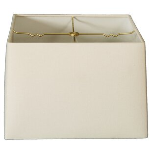 16 Linen Square Lamp Shade
