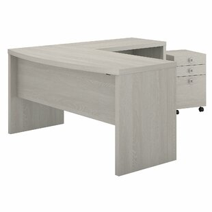 Echo 2 Piece L-Shaped Desk Office Suite