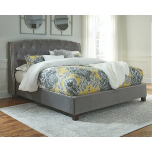 Loren Upholstered Panel Bed by Alcott Hill