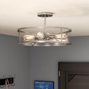 Best Duppstadt 4-Light Semi-Flush Mount By Trent Austin Design