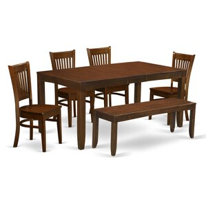 Lynfield 6 Piece Dining Set by East West Furniture