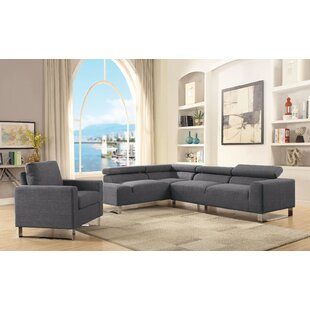 Banker Sectional Sofa By Brayden Studio