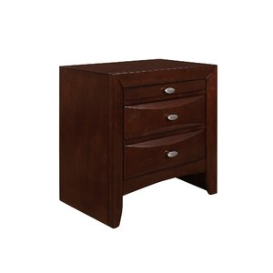 Linda 2 Drawer Nightstand
