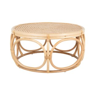 Melton Rattan Coffee Table by Bayou Breeze Best