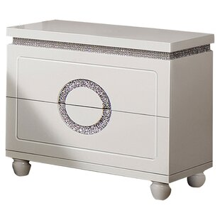 Rawles 2 Drawer Nightstand