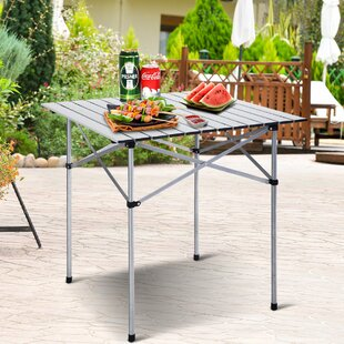 Janae Roll Up Folding Camping Table