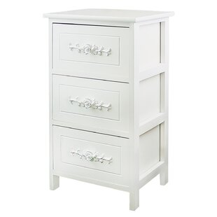 Vitale 3 Drawer Nightstand