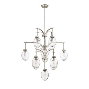 large orb chandelier. Gustavo 13-Light Shaded Chandelier Large Orb