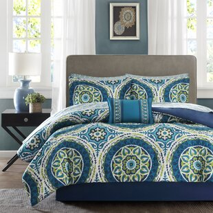 Aqua And Coral Bedding | Wayfair