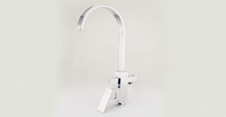 Kardiel HelixBath Modern Single Handle Floor Mount Freestanding Tub ...