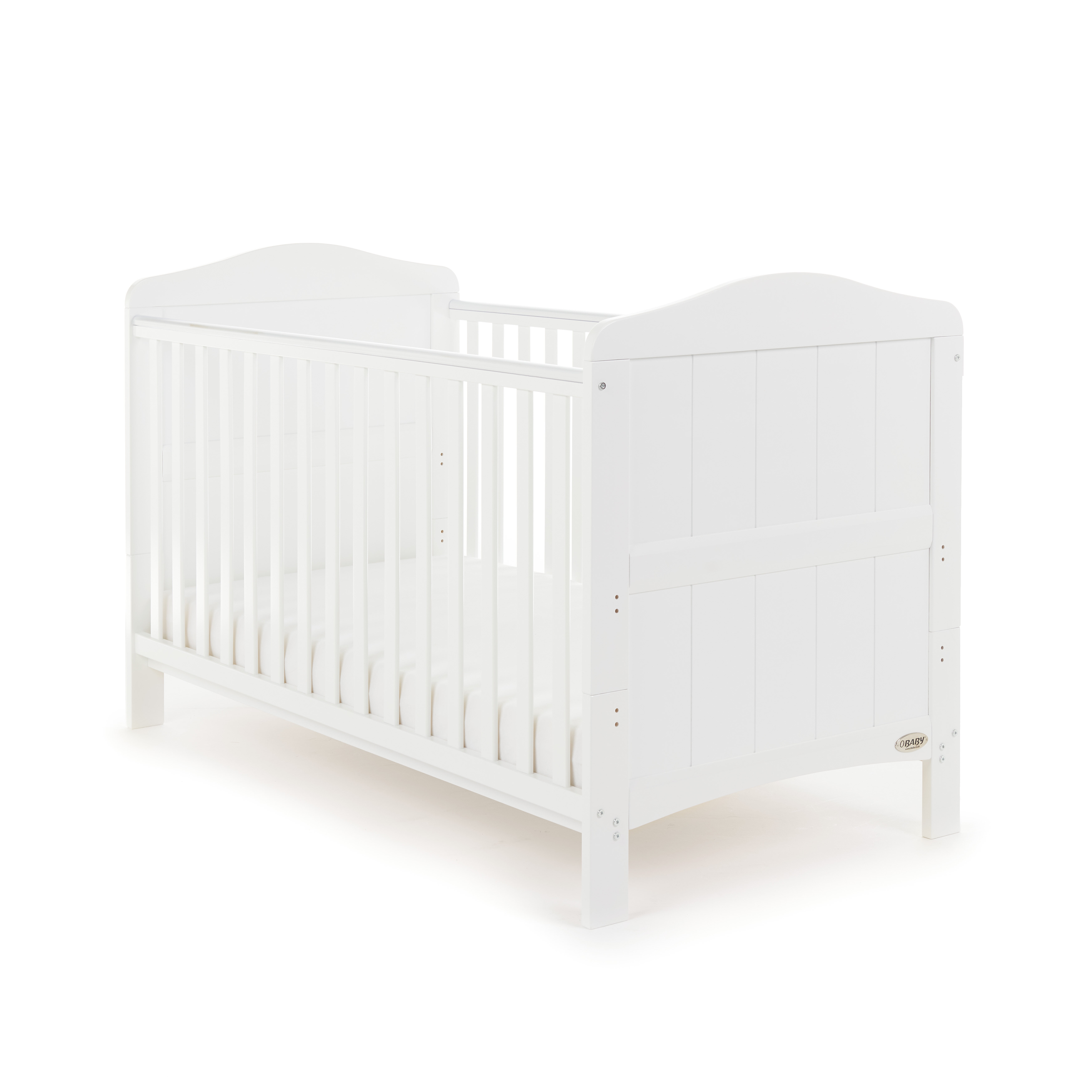 MATTRESS FOR FREE NEW WHITE 2in1 COT-BED 140 x 70 WITH A 12-PIECE BEDDING no 9