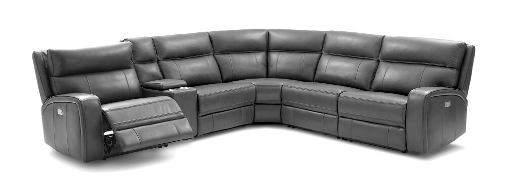 Arty Motion Leather Reclining Sectional  sc 1 st  Wayfair : reclining sectional leather - Sectionals, Sofas & Couches