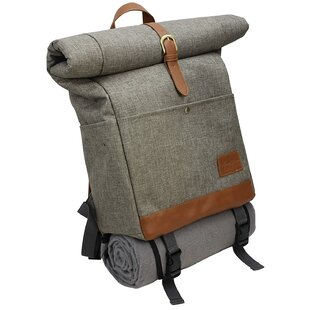 Stylish Roll Top Insulated Picnic Tote Bag