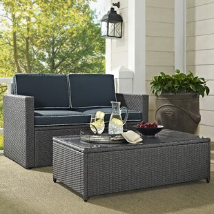 Mendelson 2 Piece Sofa Set with Cushions