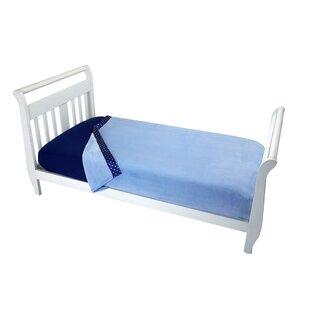 Look for Arnav Solid Blue Toddler Coral Blanket ByHarriet Bee