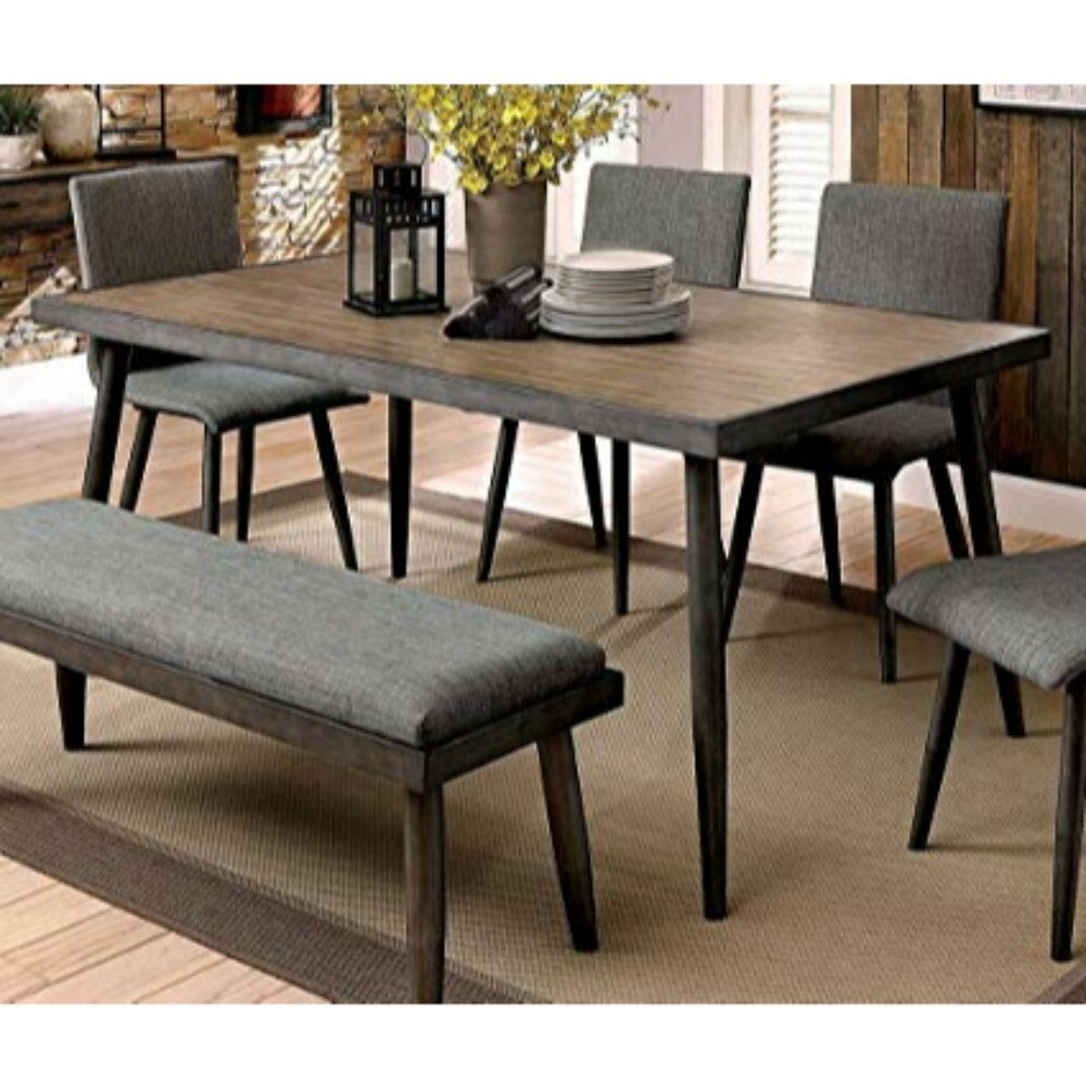 Outstanding Kipp 6 Piece Solid Wood Dining Set Ibusinesslaw Wood Chair Design Ideas Ibusinesslaworg