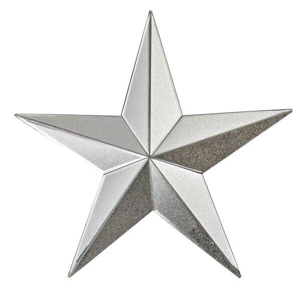 August Grove Mud Lake Mirrored Star Wall Décor & Reviews | Wayfair