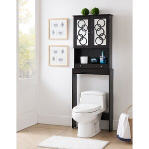 Hermes Free Standing 24 W X 67 H Over The Toilet Storage