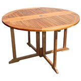 Warner Folding Wooden Dining Table