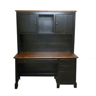 Thomasboro Computer Desk with Hutch