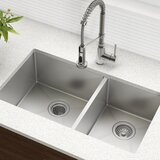 Find the Perfect Double Basin Kitchen Sinks | Wayfair