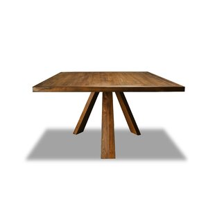 Nunley Solid Wood Dining Table Union Rustic