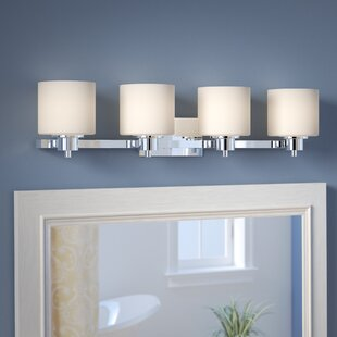 Affordable Northlake 4-Light Vanity Light By Three Posts