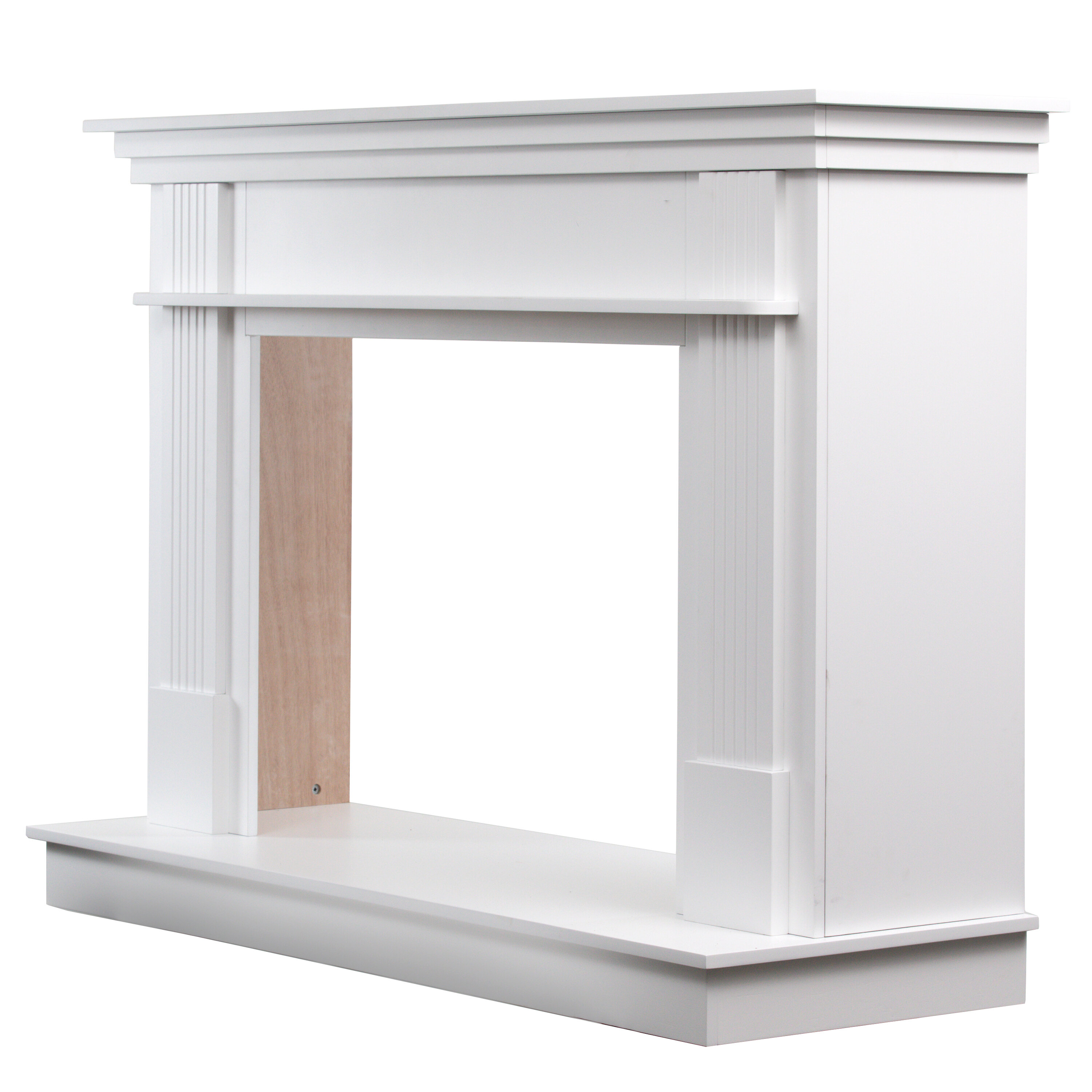 Rosecliff Heights Trinh Freestanding Fireplace Mantel Surround Reviews Wayfair