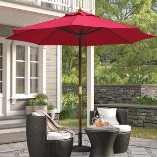 New Haven 9u0027 Market Umbrella & Patio Umbrellas Youu0027ll Love | Wayfair
