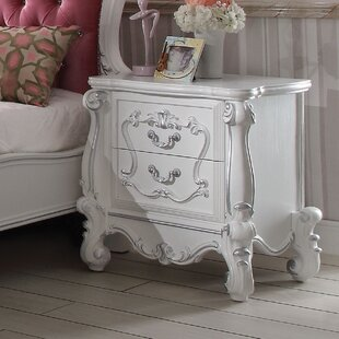 Welton Traditional 2 Drawer Nightstand by Astoria Grand