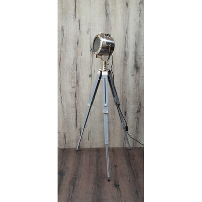 Silver Chrome Floor Lamps You Ll Love Wayfair Co Uk