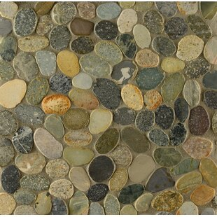 Pebble Rock Random Sized Stone Tile In Matahari