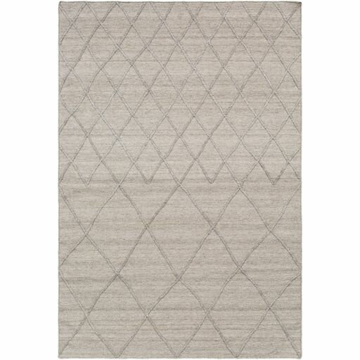 Gracie Oaks Morton Geometric Handmade Flatweave Wool Taupe Area Rug Wayfair
