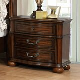 Sansome 3 Drawer Nightstand by Canora Grey